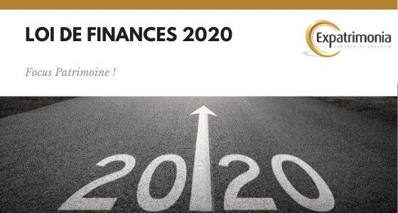 résumé loi de finances 2020