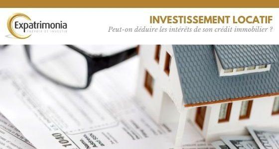 Peut-on déduire les intérêts de son crédit immobilier ?